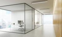 Ściany szklane do lokali użytkowych Szkło Systems